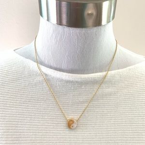 Madewell Yin-Yang Charm Necklace NWOT